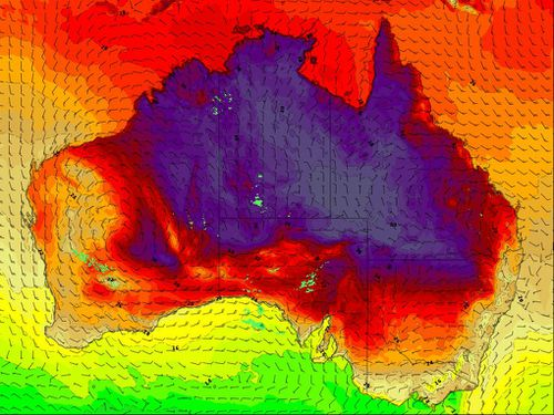 Parts of Australia are set to be hit with a heatwave in the coming days.