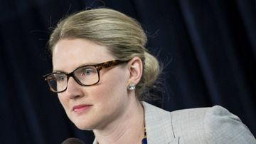 US State Department spokeswoman Marie Harf has said the US embassy in Libya was evacuated due to fierce fighting in Tripoli. (Getty)