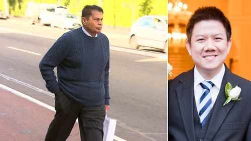 Dr Bhikhubhai Patel diagnosed Samuel Seeto with the flu the day before his death. (9NEWS)