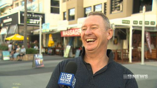 Steve Titmus describes the moment his daughter told him he was embarassing. (9NEWS)