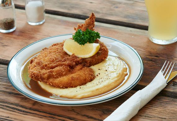 Mary's' Jake Smyth on the secret to a perfect chicken schnitzel