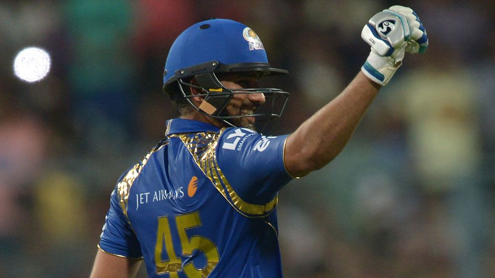 Rohit Sharma starred for Ricky Ponting's Mumbai Indians. (AAP)