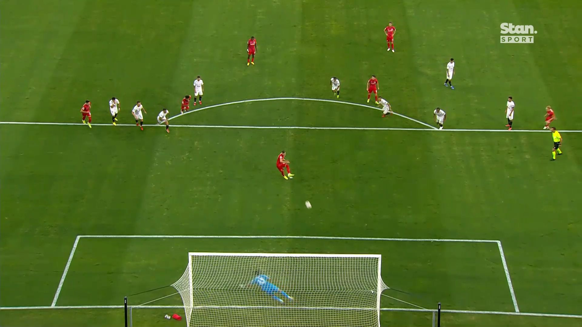 10-man Sevilla salvages 1-1 draw with Salzburg in Champions League opener