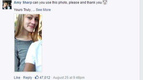 Sydney teen requests better photo after alleged escape