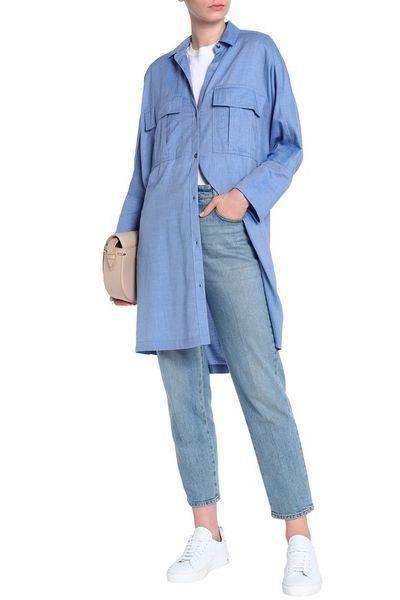 "<em><a href=""https://www.theoutnet.com/en-au/shop/product/3-quarter-sleeves-top_cod1050808922026.html#dept=INTL_James_Perse_DESIGNERS"" target=""_blank"" title=""Style Pick-James Perse Oversized Cotton-Mousseline Shirt in Light Blue, $168"" draggable=""false"">Style Pick-James Perse Oversized Cotton-Mousseline Shirt in Light Blue, $168</a></em>"