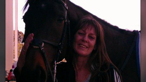 The horsewoman says she has ridden her horse to bottle-Os and pubs many times before, and had no idea it was illegal. Picture: 9NEWS
