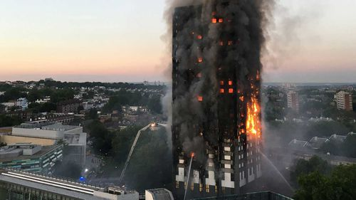 The investigation was prompted by the Grenfell Tower disaster, when 80 died. Picture: AAP