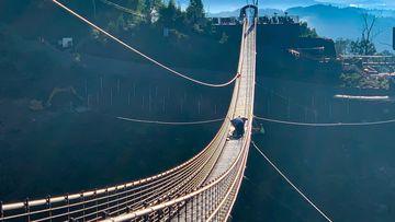 Gatlinsburg skybridge