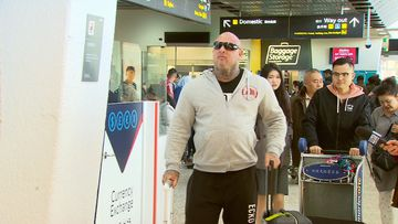 Mick Murray was forced to return to Australia after being refused entry to Thailand when he arrived there.
