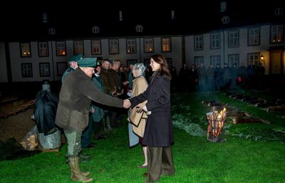 Danish royals attend The King's Hunt, November 2019