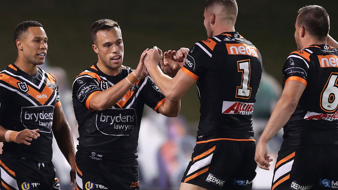 Wounded Wests Tigers thump sorry North Queensland Cowboys in NRL