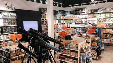 One of the Curious Planet stores set to close.