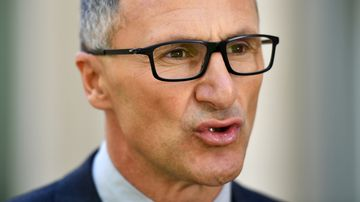 Greens leader Richard Di Natale has lashed political speech that incites hatred.