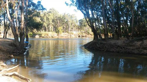 The Murray River. (9NEWS)