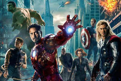 Scarlett Johansson's derriere and Chris Evans' pecs are unfortunately off limits, but the super-awesome pieces of superhero memorabilia in this gallery are for sale. Word of warning: you'll need the cash of Iron Man Tony Stark to afford these collector's items, with starting bids from $200 to $60,000. Hollywood memorabilia sellers Profiles in History launched the auction back in April. We can't wait to see more <i>Avengers</i> items pop up for sale!
