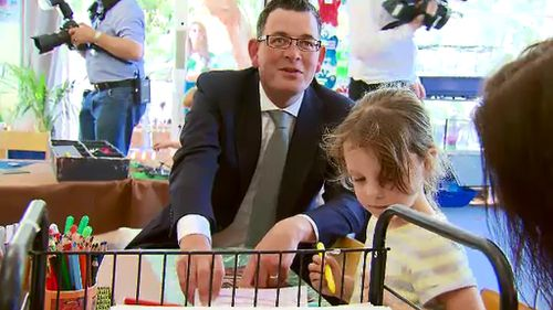 Victorian premier calls for long-term commitment to kindergarten funding from federal government