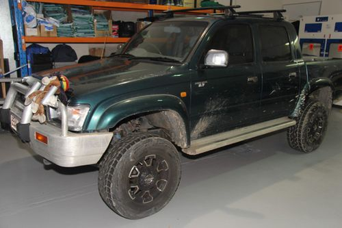 Anyone who may have seen this ute in the vicinity of Bega Road, Euroa Street and Mudgee Street on January 24 should contact Crime Stoppers. (QLD Police)