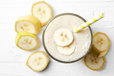 250-300ml milkshake or fruit smoothie