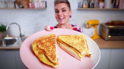 Jane de Graaff shows how to nail the classic omelette eggy bread hack