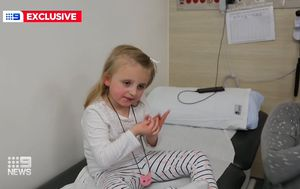 Sydney girl tested with new drug for devastating disease