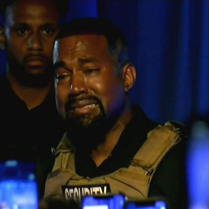 Kanye West cries about abortion, angers with slavery comments at rally for  his presidential campaign - 9Celebrity