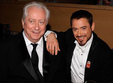 Robert Downey Jr. and director Robert Downey Sr.