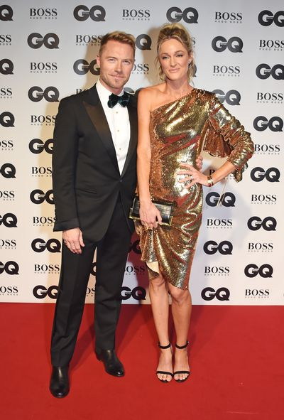 Ronan and Storm Keating at the 2018 GQ Men of the Year Awards