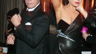 John Travolta and Lady Gaga