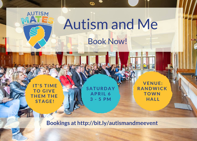 Noah will be speaking at the Autism and Me event on Saturday, April 6.