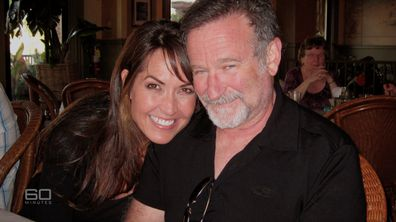 Williams with his wife Susan Schneider Williams.