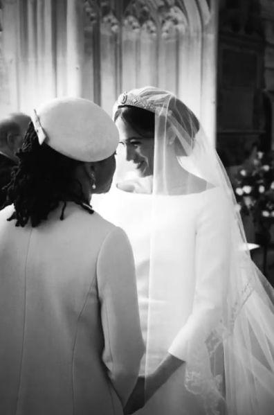 Meghan Harry unseen wedding photos first anniversary