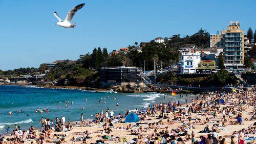 Coogee Beach in Sydney's Eastern Suburbs.
