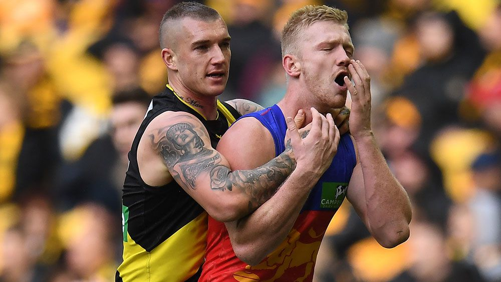 Richmond's Dustin Martin stars in AFL win over Brisbane but Match Review Panel looms