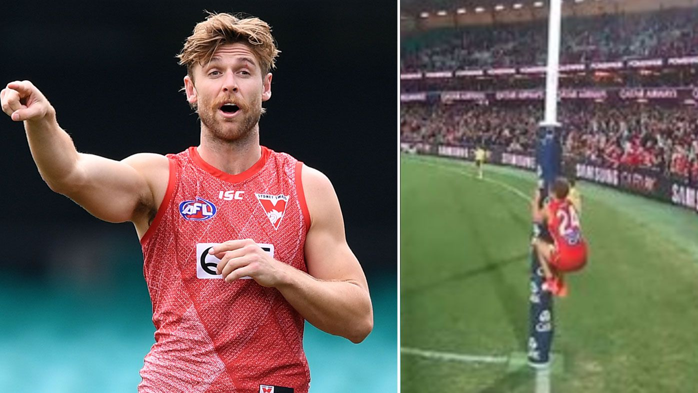 AFLPA, Sydney Swans weigh options on Dane Rampe umpire sledge fine
