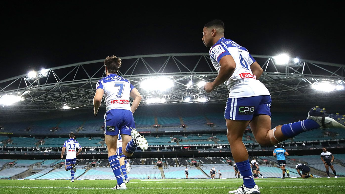 NRL Rd 2 - Bulldogs v Cowboys