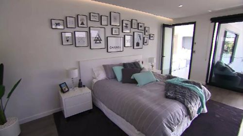 Each bedroom has an ensuite and water views. Picture: 9NEWS