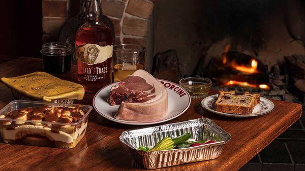 Porcine X Buffalo Trace Whiskey BBQ Box