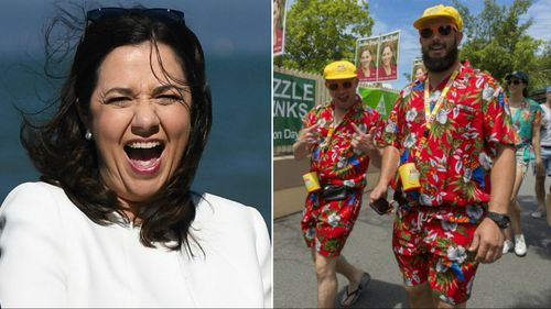 An exit poll predicts Premier Annastacia Palaszczuk will win the 2017 Queensland election. (9NEWS)