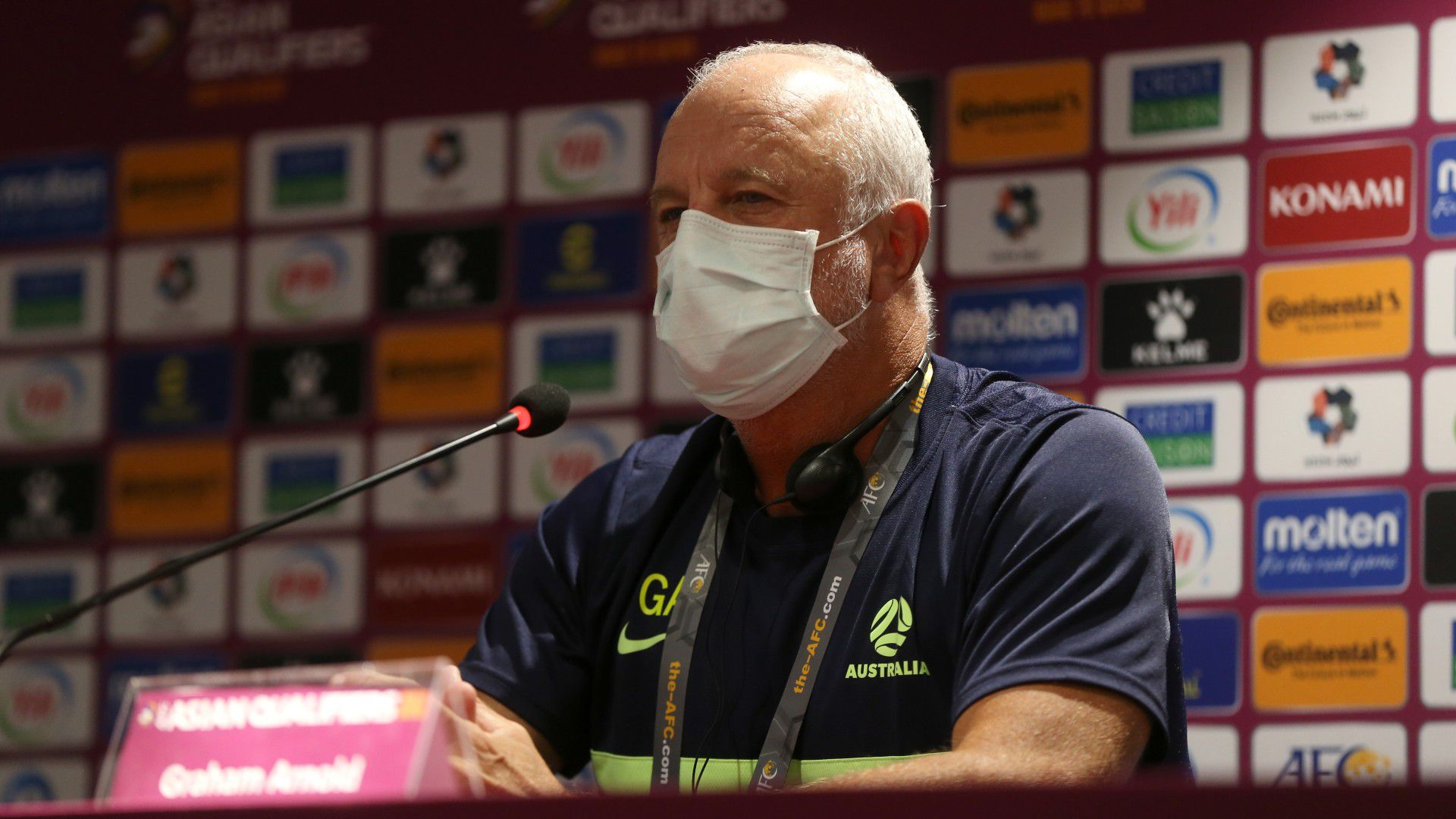 Graham Arnold not satisfied with 11 consecutive wins ahead of crunch clash with Japan