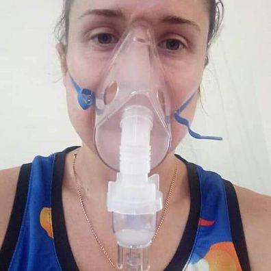 Brisbane single mum Rose Fox has long haul coronavirus symptoms