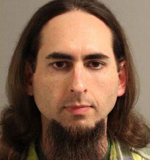Jarrod Ramos in a mugshot. (Anne Arundel Police Department)