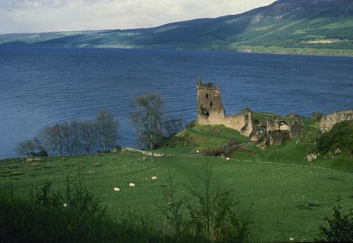 For hundreds of years, visitors to Scotland's Loch Ness have described seeing a monster that some believe lives in the depths.