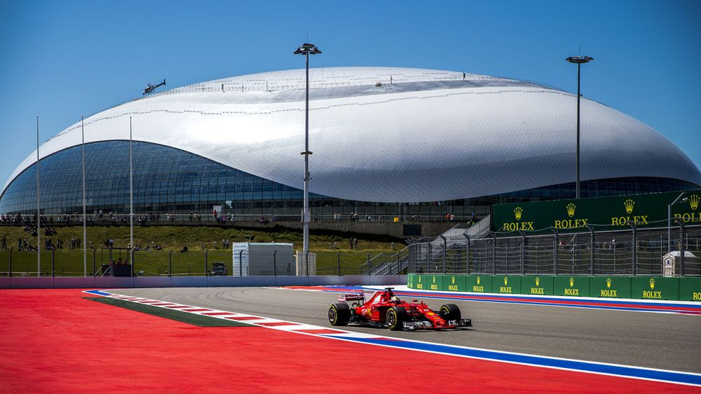 Sebastian Vettel leads Ferrari one-two in Sochi