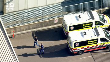 Ambulance officers have arrived at the scene after reports of a stabbing.