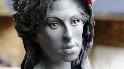 """But not everyone was happy with the tribute. """"I'm a massive fan of Amy Winehouse but I don't like the statue,"""" said Twitter user niamhie_c. (Getty)"""