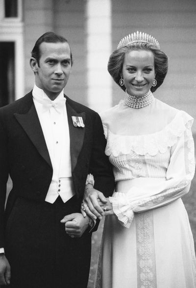 Prince Michael of Kent marries Baroness Marie-Christine von Reibnitz in Vienna, 30th June 1978.<br />