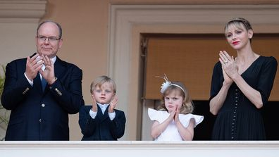 The royals attend the Fete de la Saint Jean on June 23, 2020 in Monaco, Monaco.