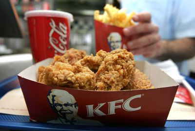 <strong>KFC Meal Combos (41 grams of sugar)</strong>