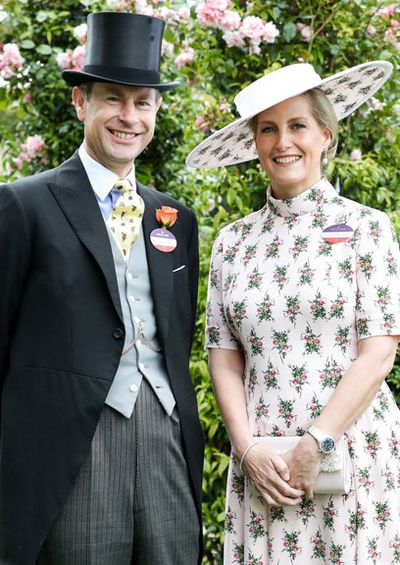 The Earl and Countess of Wessex celebrate 20th wedding anniversary, June 2019