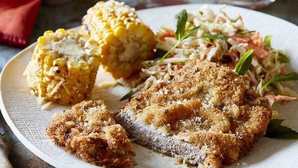 Schnitzel dish